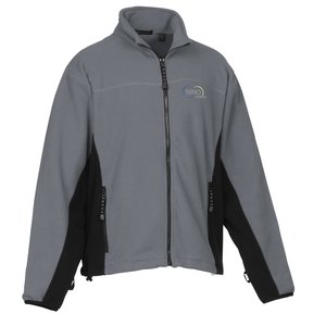 Heavyweight Microfleece Jacket - Colorblock - Men's Main Image