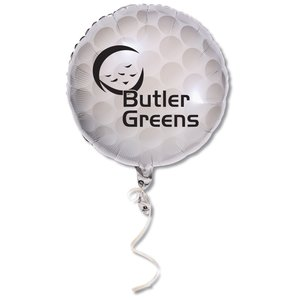 "Mylar Balloon - 18"" - Golf Ball Main Image"