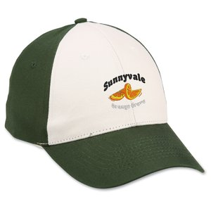 Brushed Cotton Cap - Stone Front - Emb