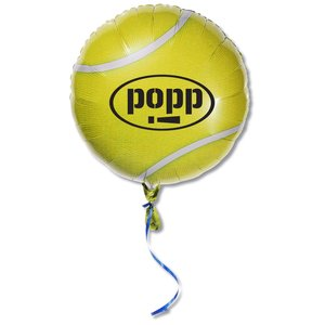 "Mylar Balloon - 18"" - Tennis Ball Main Image"