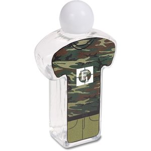 Body Shape Hand Sanitizer - Military Main Image