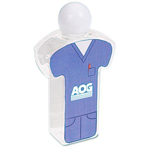 Body Shape Hand Sanitizer - Scrub Main Image