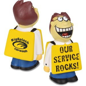 """Service Rocks"" Stress Reliever Main Image"