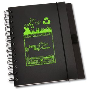 Recycled PolyPro - Cardboard Journal - Eco Expressions Main Image