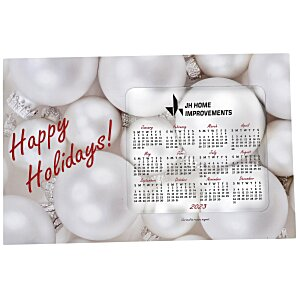 Greeting Card with Magnetic Calendar - Ornaments Main Image