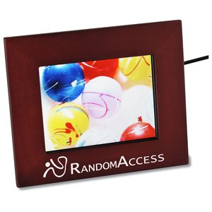 "Wooden Digital 3.5"" Photo Frame Main Image"