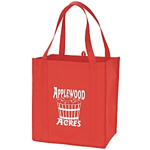 "Value Grocery Tote - 13"" x 12"" Main Image"