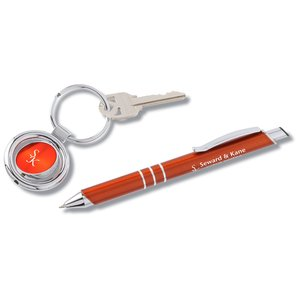 Slim Line Pen & Key Tag Set Main Image