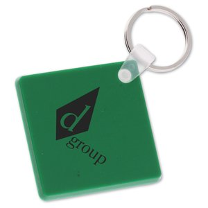 Diamond Shape Vinyl Key Tag - Opaque - Closeout Main Image