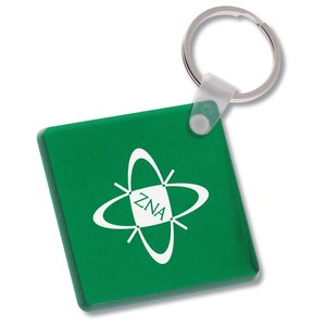 Diamond Shape Vinyl Key Tag - Translucent Main Image