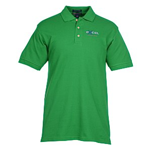Egyptian Cotton Pique Polo - Men's Main Image