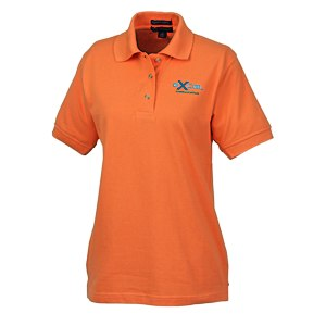 Egyptian Cotton Pique Polo - Ladies' Main Image