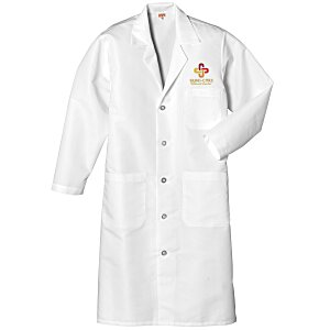 Red Kap Lab Coat - Men's - White Main Image
