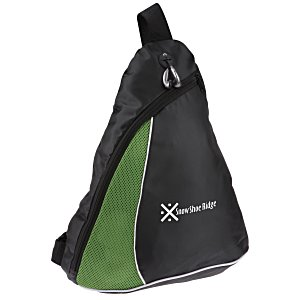 Air Mesh Stripe Accent Slingpack Main Image