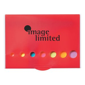 Hard Case Adhesive Notes with Pen Main Image
