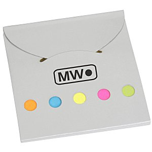 Bright Flag Set with Adhesive Notes Main Image