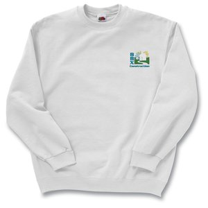 FOL Best 50/50 Sweatshirt - Embroidered - White Main Image
