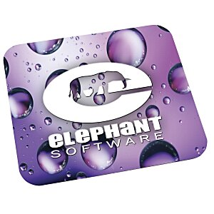 Antimicrobial Recycled Mouse Pad - Rectangle Main Image