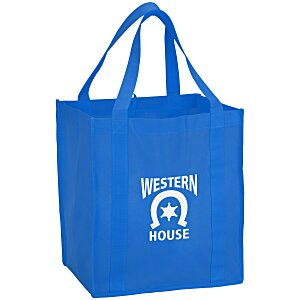 "Value Grocery Tote - 15"" x 13"" - 24 hr Main Image"