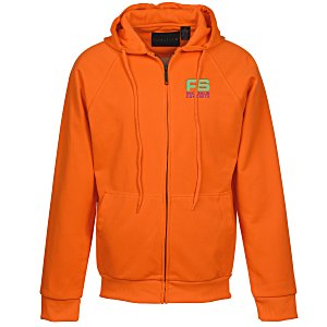 Thermal-Lined Full Zip Sweatshirt - Brights - Emb Main Image