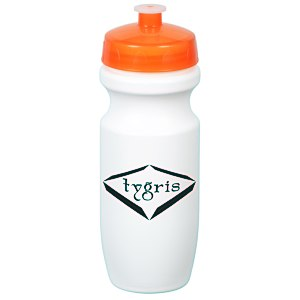 Move-It Bike Bottle - 20 oz. - White Main Image