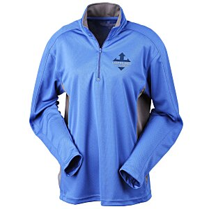 Blue Generation 1/2-Zip Performance Pullover - Ladies' Main Image