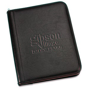 Tuscan Leather Zippered Portfolio Main Image