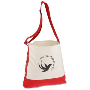 Cotton Grommet Sport Tote - 24 hr Main Image