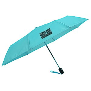 totes Auto Open/Close Umbrella - Solid