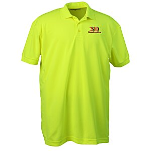 Blue Generation High Visibility Pique Polo - Men's Main Image