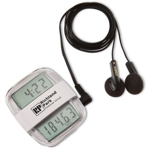 Clock Rocker Radio Pedometer Main Image