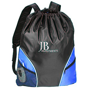 Traveler Drawstring Backpack Main Image