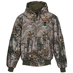 DRI DUCK Cheyenne Hooded 12 oz. Jacket - Camo Main Image