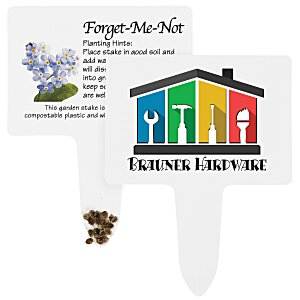 Compostable Seed Stakes - Forget Me Not Main Image