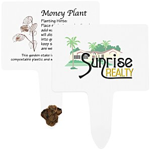 Compostable Seed Stakes - Money Plant Main Image