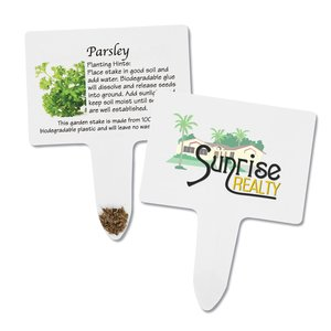 Compostable Seed Stakes - Parsley Main Image