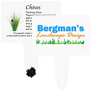 Compostable Seed Stakes - Chives Main Image