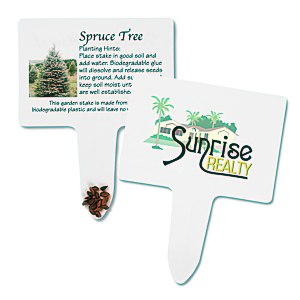 Compostable Seed Stakes - Spruce Tree Main Image