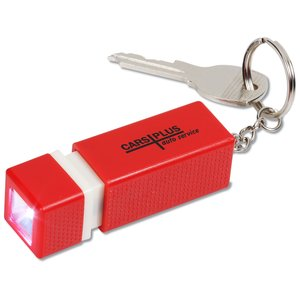 3D Flashlight Key Tag Main Image