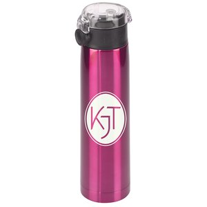 h2go Aspen Vacuum Stainless Sport Bottle - 24 oz. Main Image