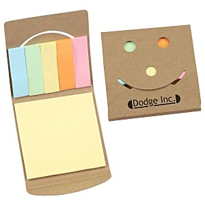 Smiley Adhesive Notepad Main Image