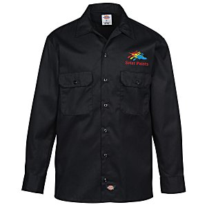 Dickies 5.2 oz. Long Sleeve Work Shirt Main Image