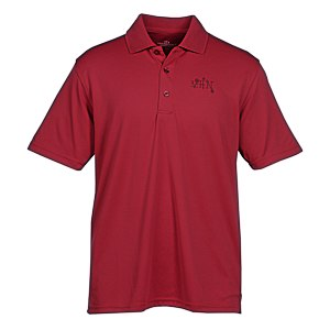 Vansport Omega Solid Mesh Tech Polo - Men's - Laser Etched Main Image