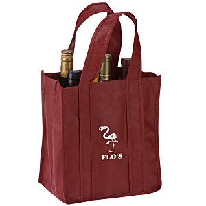 Six Bottle Wine Tote Main Image