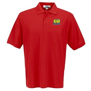 Soft-Blend Double-Tuck Polo - Men's Main Image