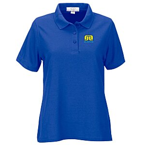 Soft-Blend Double-Tuck Polo - Ladies' Main Image