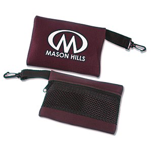 "Mesh-Back Travel Bag - 5"" x 6-1/2"" Main Image"