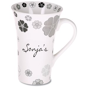 Manhattan Design Mug - 12 oz. - Flower Main Image