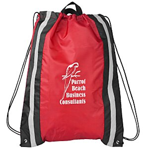 "Be Seen Reflective Stripe Sportpack - 20"" x 16"" Main Image"
