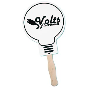 Hand Fan - Light Bulb